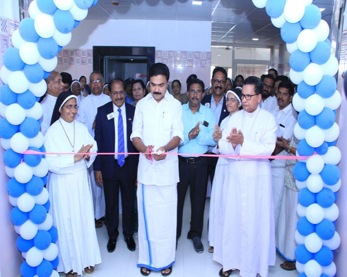 New OT Complex Inauguration by JOS K Mani M.P