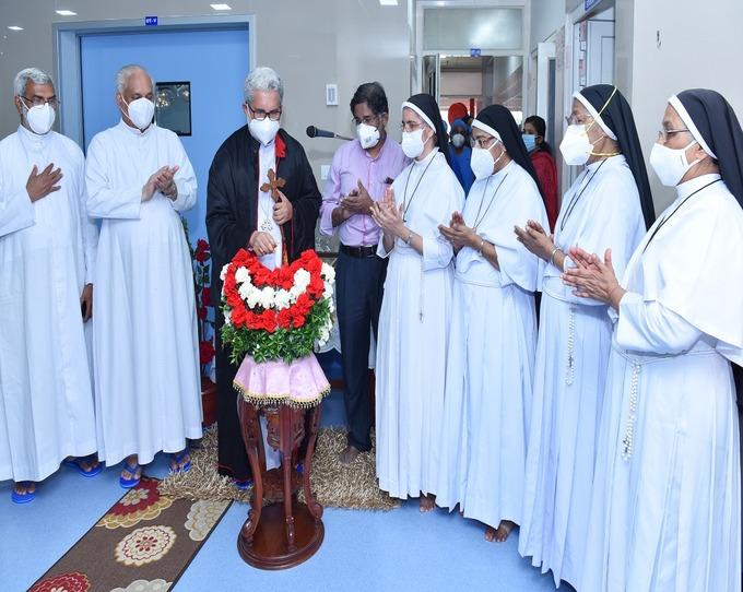 Operation Theatre Complex Blessing & Inauguration by Mar. Joseph Kallarangattu